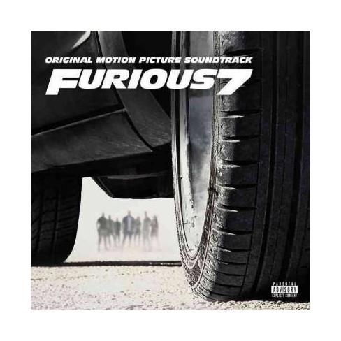 Furious 7 Original Motion Pic Furious 7 Original Motion Picture Soundtrack Pa Explicit Lyrics Cd Target