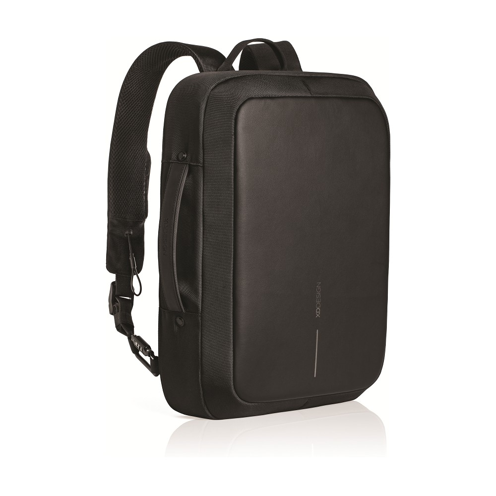 Bobby Bizz 16.5 Anti-Theft Backpack & Briefcase - Black