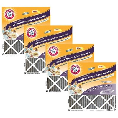Arm & Hammer 4pk Maximum Allergen Air Filters