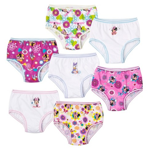 7pk Underwear, Little Girls' Minnie Mouse by Handcraft - image 1 of 1