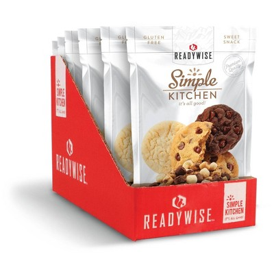 ReadyWise Simple Kitchen Cookie Dough Medley Freeze-Dried Dessert - 10.8oz/6ct
