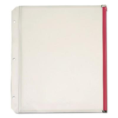 Cardinal Expanding Zipper Binder Pocket 11 x 8 1/2 Assorted Colors 5/Pack 14650