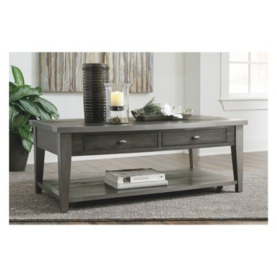 Branbury Rectangular Cocktail Table Gray - Signature Design by Ashley