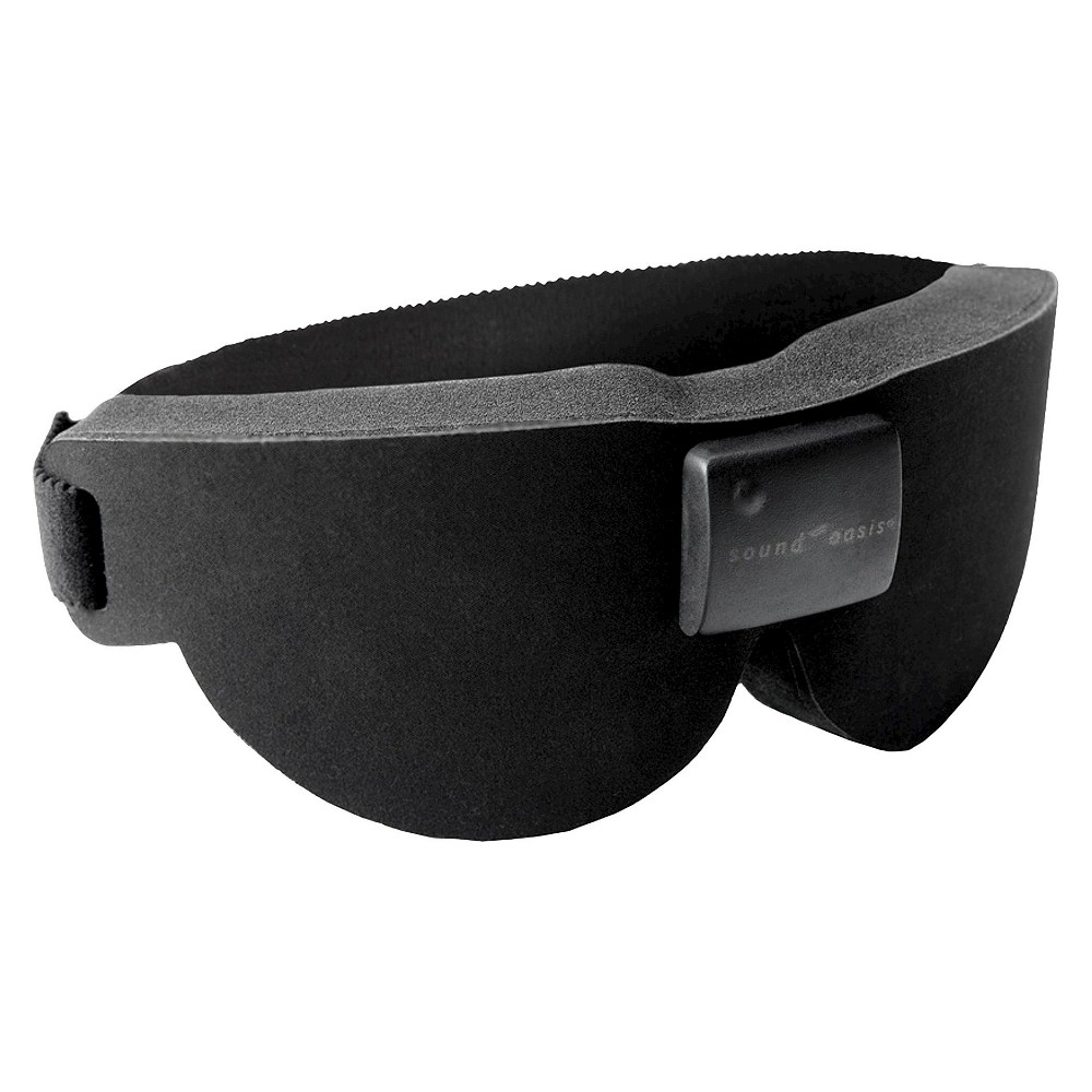 Sound Oasis Sleep Therapy Mask - Black