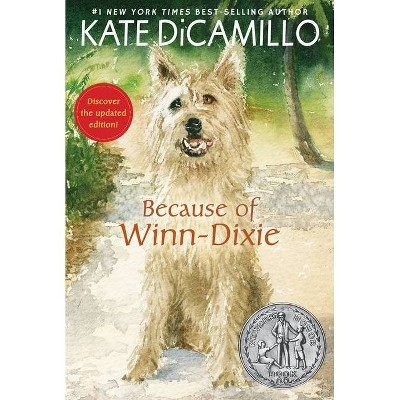 Because of Winn-Dixie - by Kate DiCamillo (Paperback)
