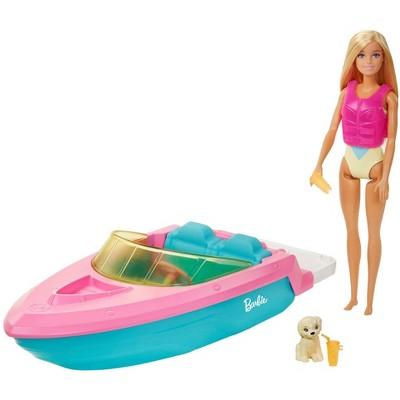 Barbie Doll & Boat Playset