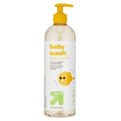 Baby Wash with Vanilla & Apricot - 24 fl oz - up & up™