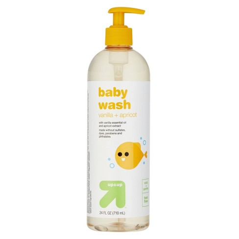 Baby Wash with Vanilla & Apricot - 24 fl oz - up & up™ - image 1 of 3