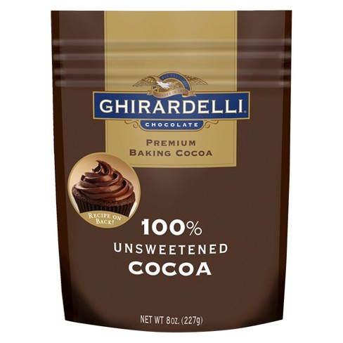 Ghirardelli Unsweetened Cocoa - 8oz - image 1 of 1