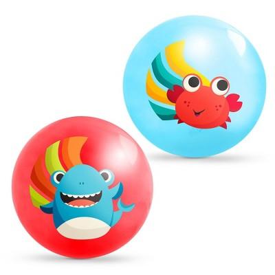 B. toys Bouncin' Around Bouncy Balls - Crab & Shark