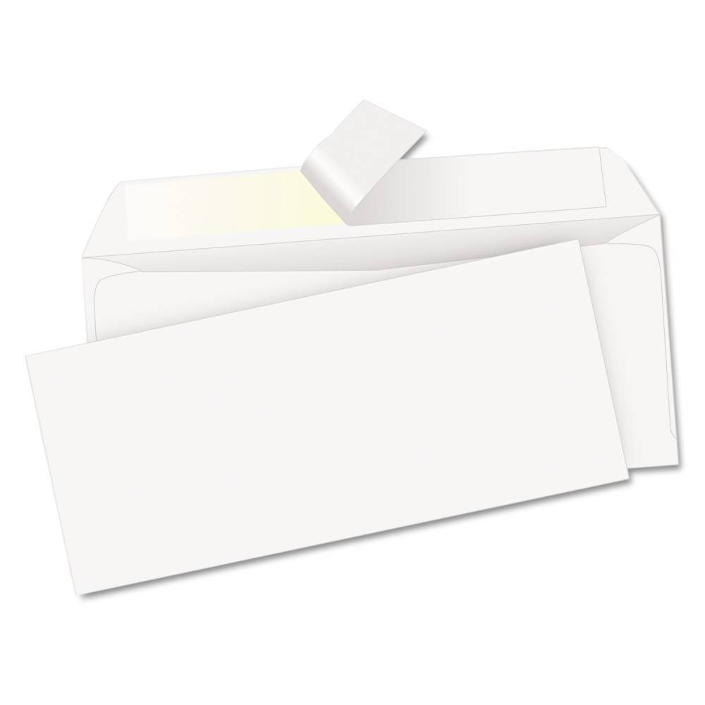 Image of Quality Park Redi-Strip Envelope, Contemporary, #10 - White (500 Per Box)