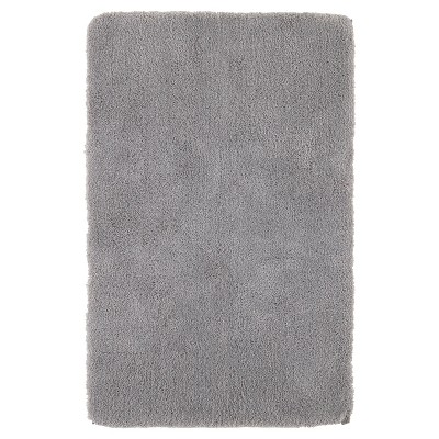 Luxury Solid Bath Rug (24 X38 )Skyline Gray - Fieldcrest®