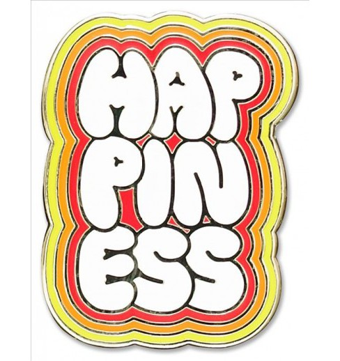 Happiness Hard Enamel Cloisonne Pin (Accessory) - image 1 of 1