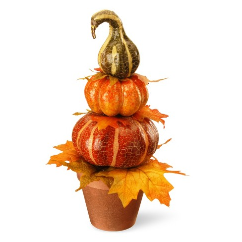 "15"" Potted Pumpkin Decor - National Tree Company - image 1 of 1"