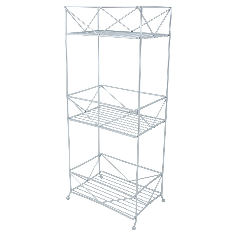 Geo Spa Tower Chrome (Grey) - Bath Bliss