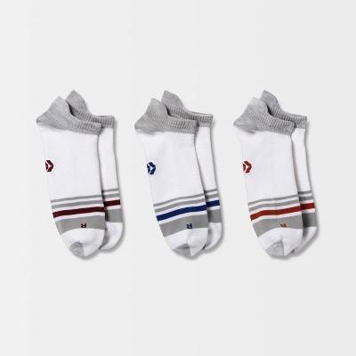 Men's No Show Socks 3pk - All in Motion™ 6-12