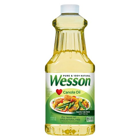 Wesson® Canola Oil - 48oz - image 1 of 1