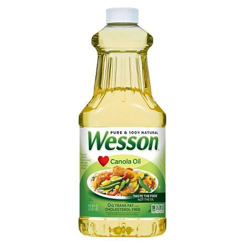 Wesson Canola Oil - 48oz - image 1 of 4