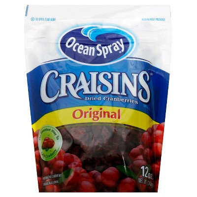 Dried Fruit & Raisins: Ocean Spray Craisins