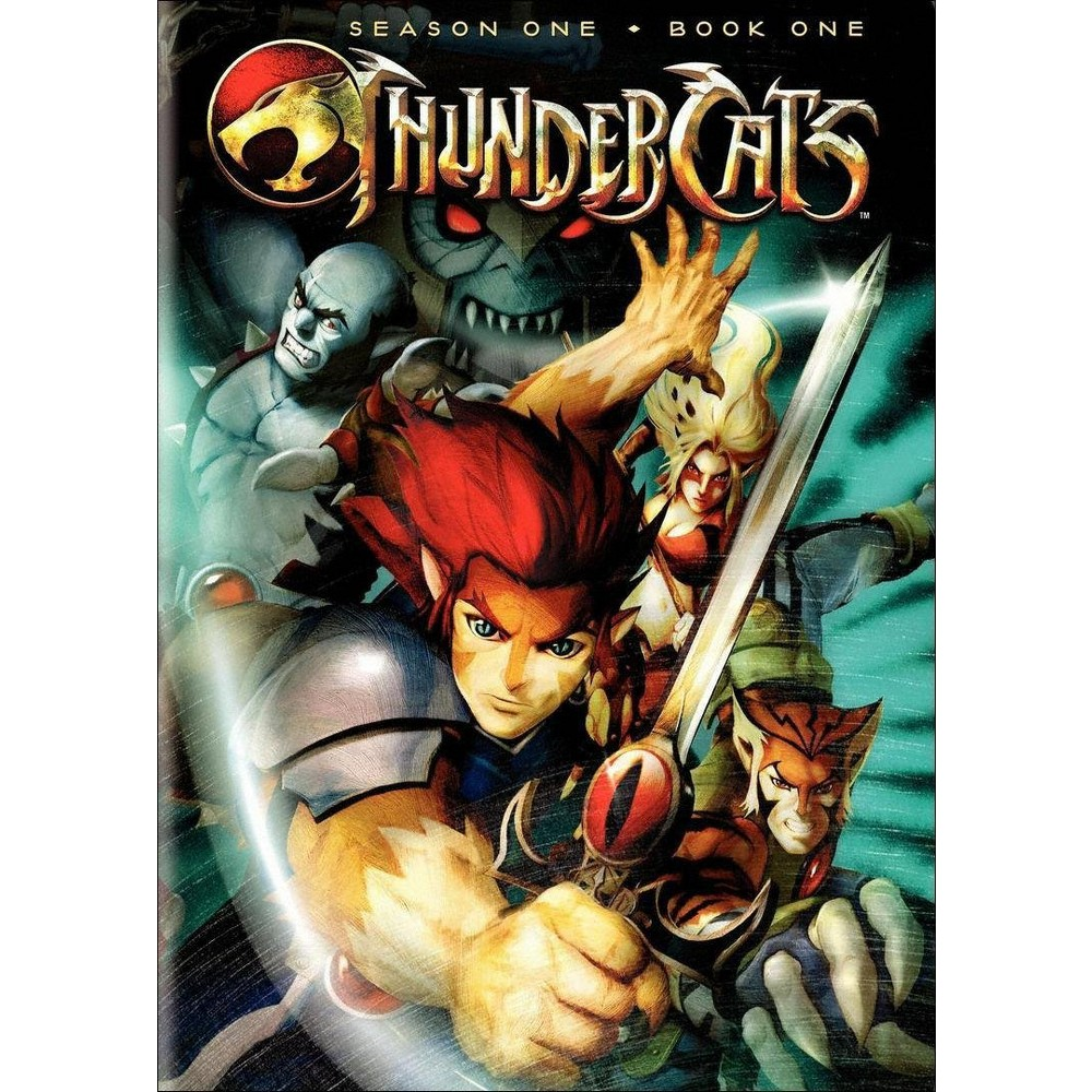 Thundercats: Season One - Book One (2 Discs) (dvd_video)