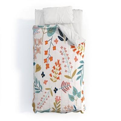 83 Oranges Botanical Harmony 100% Cotton Comforter Set - Deny Designs