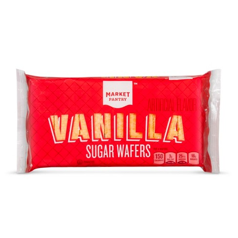 Vanilla Wafer Cookies 8oz - Market Pantry™ - image 1 of 1