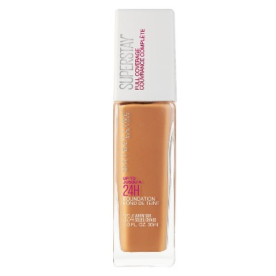 maybelline superstay foundation shades