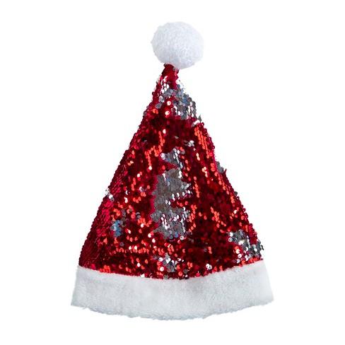 Sequin Santa Hat - Wondershop™ - image 1 of 2
