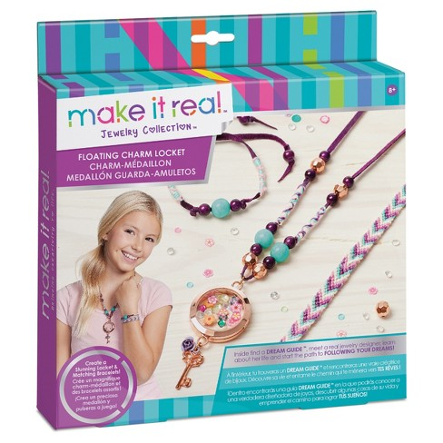 Make It Real Floating Charm Locket - image 1 of 4