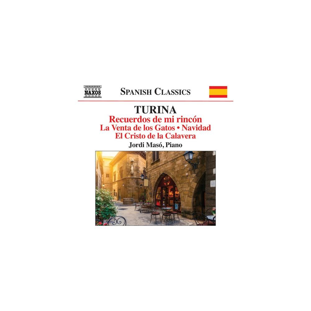 Jordi Maso - Turina:Recuerdos De Mi Rincon (CD)