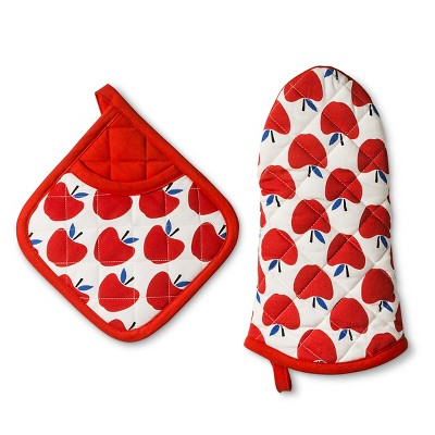 Kitchen Textile Apple 2pc - Room Essentials™