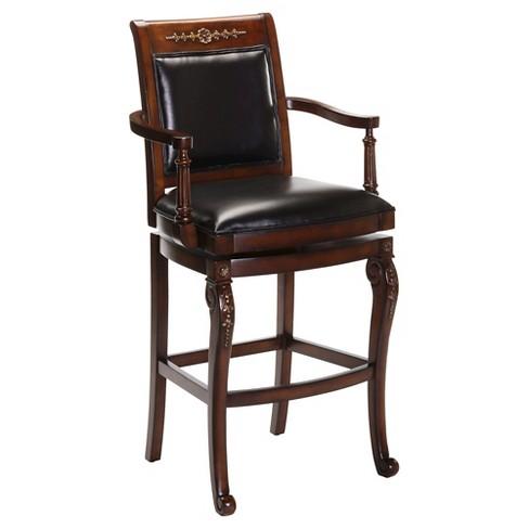 Douglas Armchair 24 Counter Stool Woodcherry Hillsdale Furniture
