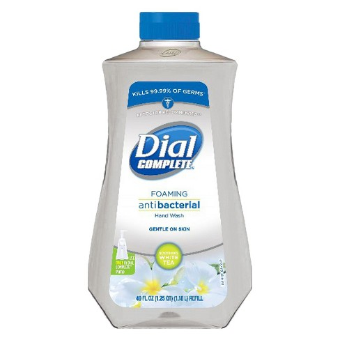 Dial Complete Foaming Antibacterial Hand Wash - 40 oz- Assorted scents - image 1 of 2