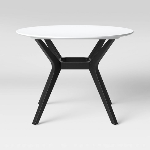 42 Emmond Mid Century Modern Round Dining Table Black Project 62 Target