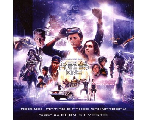 Alan Silvestri - Ready Player One (Osc) (CD) - image 1 of 1