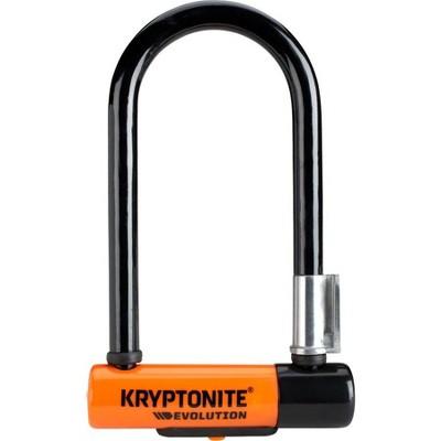 """Kryptonite Evolution Series U-Lock 3.25 x 7"""" Black"""
