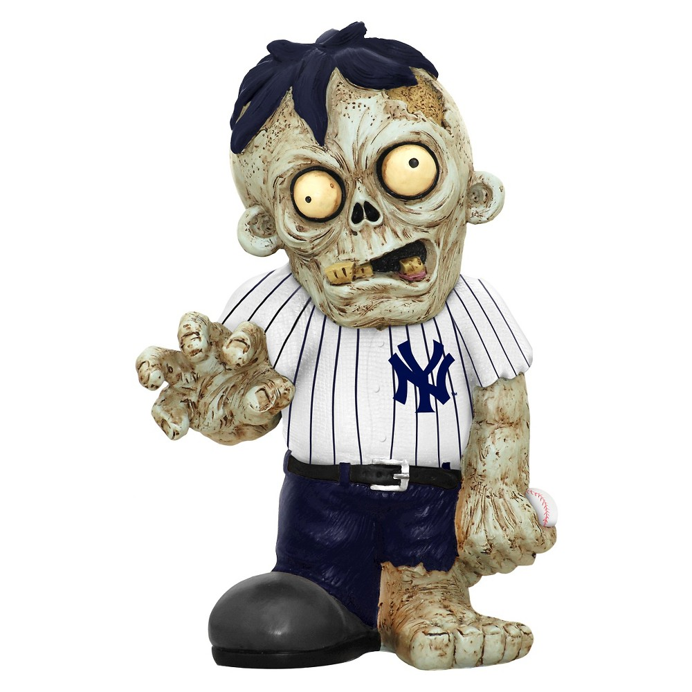 MLB Forever Collectibles Resin Zombie Figurine New York Yankees