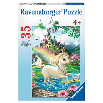 Ravensburger Unicorn Castle Puzzle 35pc