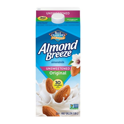 Blue Diamond Almond Breeze Almond Milk - 0.5gal - image 1 of 1