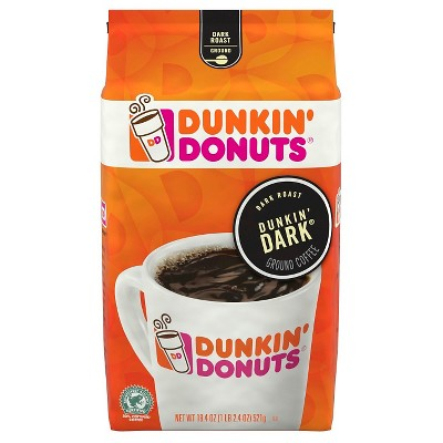 Dunkin' Donuts Dark Roast Ground Coffee - 18.4oz