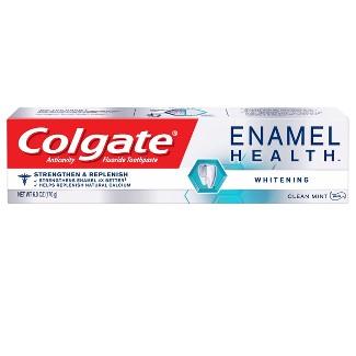 Colgate Enamel Health Whitening Toothpaste Clean Mint - 6oz