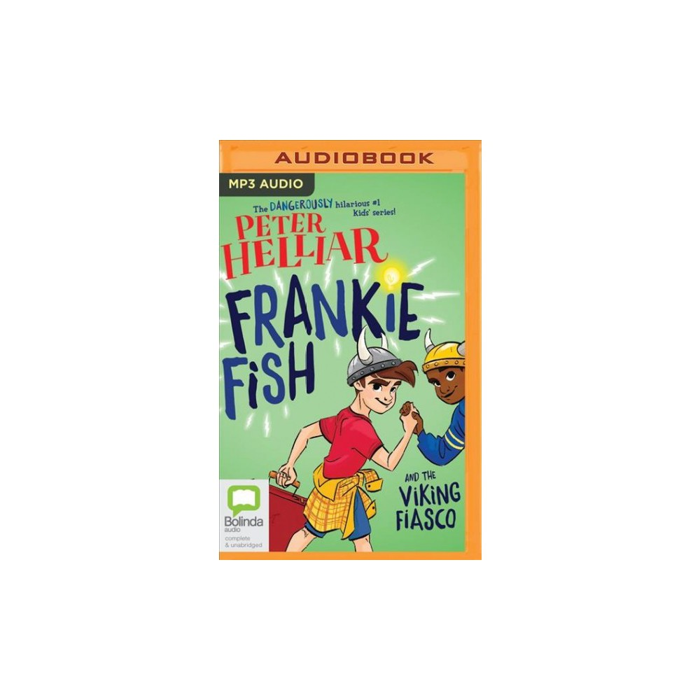 Frankie Fish And the viking fiasco - by Peter Helliar (MP3-CD)