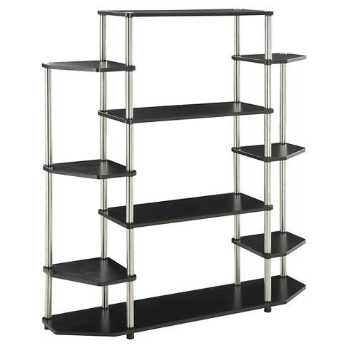 "51.13"" Wall Unit Bookshelf - Johar Furniture - image 1 of 3"