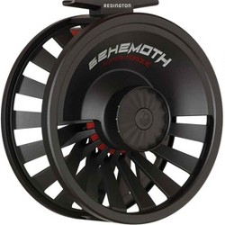 Redington Behemoth Series Die-Cast Adjustable 7/8 Fly Fishing Reel Spool with Nylon Reel Case, Black