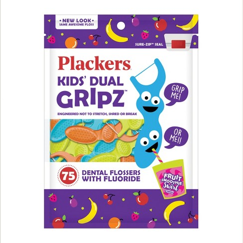 Plackers Flossers - Fruit Smoothie Swirl 75 ct - image 1 of 2