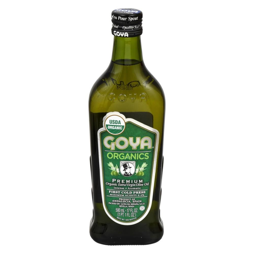 Goya Organic Extra Virgin Olive Oil - 17 fl oz