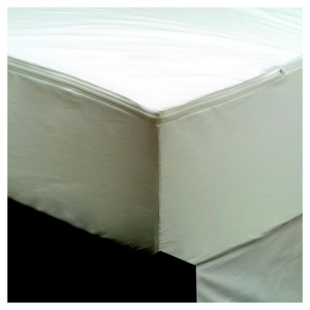 AllerEase Maximum Mattress Cover - White (Cal King)