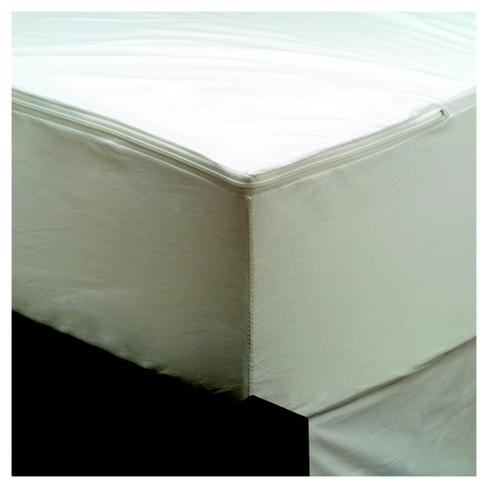 Maximum Bed Bug And Allergy Mattress Protector White Twin