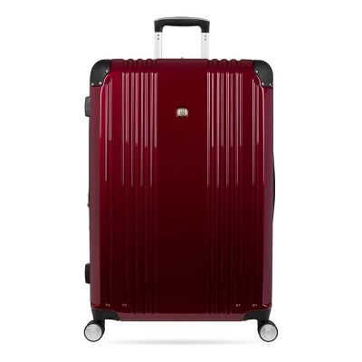 "SWISSGEAR 28"" Hardside Suitcase - Red"