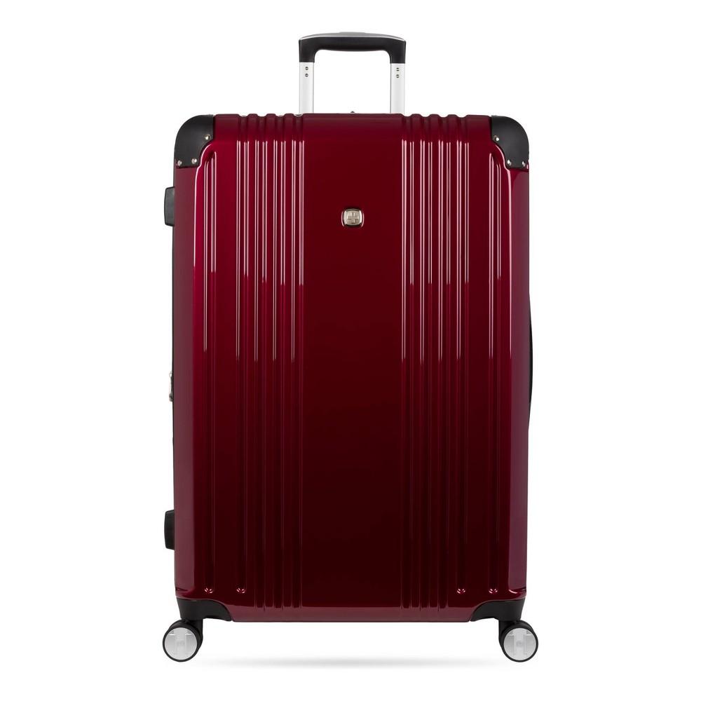 Swissgear 28 34 Hardside Suitcase Red